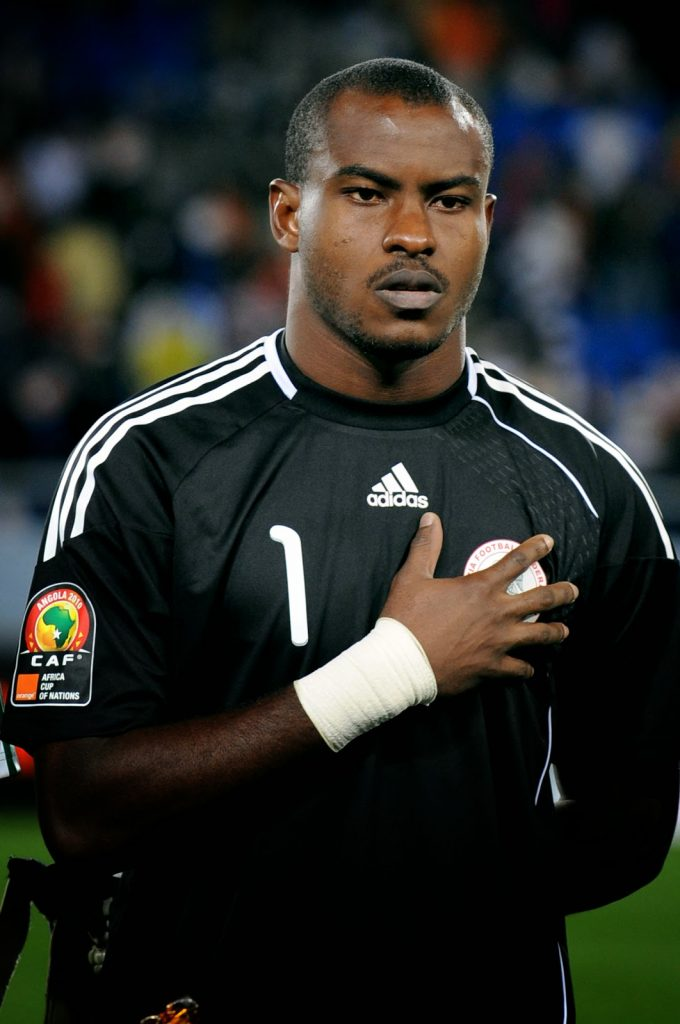 Vincent Enyeama playing for Nigeria at AFCON 2013