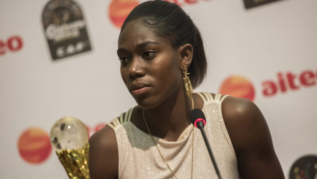 Asisat Oshoala daughter