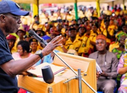 Governor Sanwo-Olu during an interactive session with the LASTMA officials