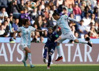 Argentina hold Japan for historic first World Cup point
