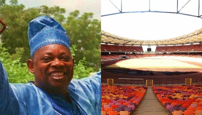buhari renames stadium