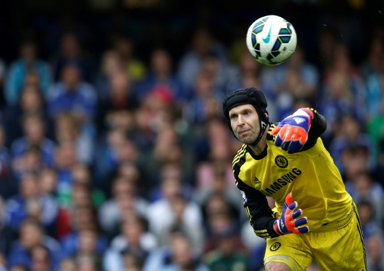 Back at the Bridge: Petr Cech has returned to Chelsea in an advisory role
