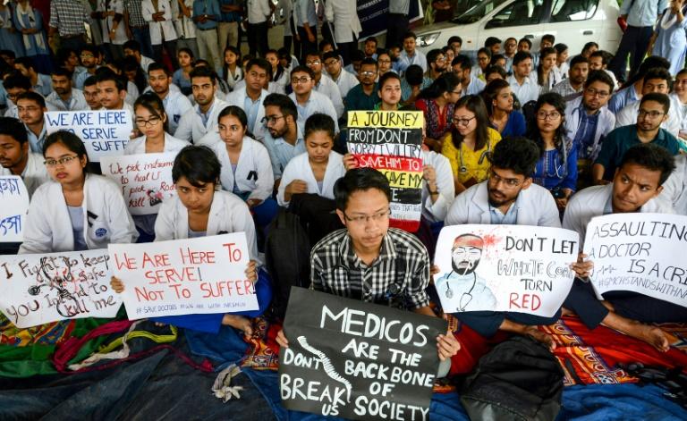 Indian doctors strike