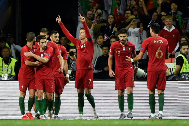 Cristiano Ronaldo scored his first goals for Portugal since the 2018 World Cup