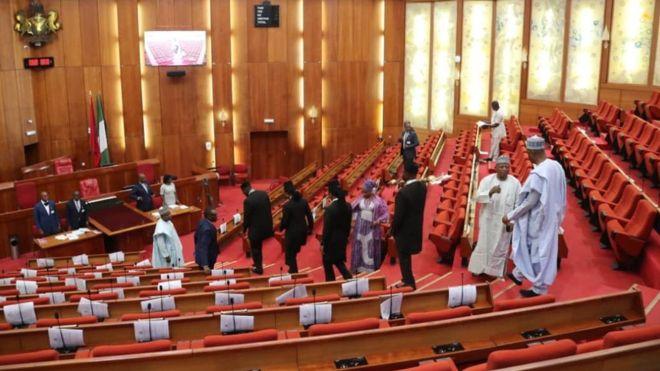 apc pdp senators elect clash over