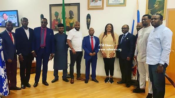 sinach russia nigeria embassy welcome