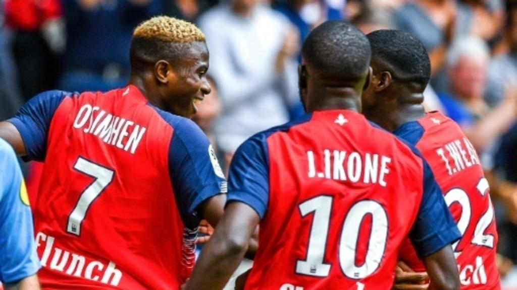 Victor Osimhen gets a brace on his Ligue 1 debut for Lille