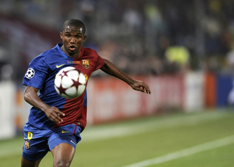 Cameroon's Samuel Eto'o says his playing days are over