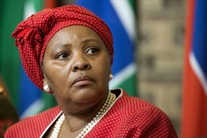 Nosiviwe Mapisa-Nqakula, South Africa's Defence Minister