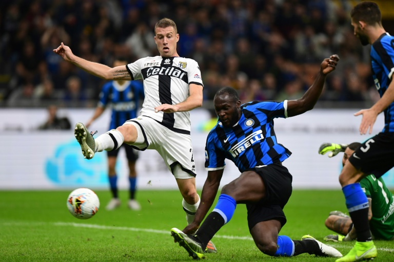 Inter Milan forward Romelu Lukaku has scored six goals in nine Serie A games.