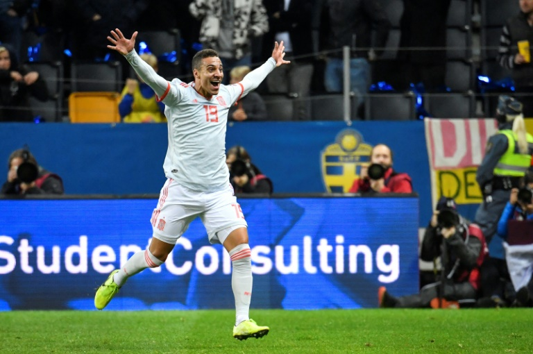 Rodrigo ensures a Euro 2020 spot for Spain with his late equaliser against Sweden