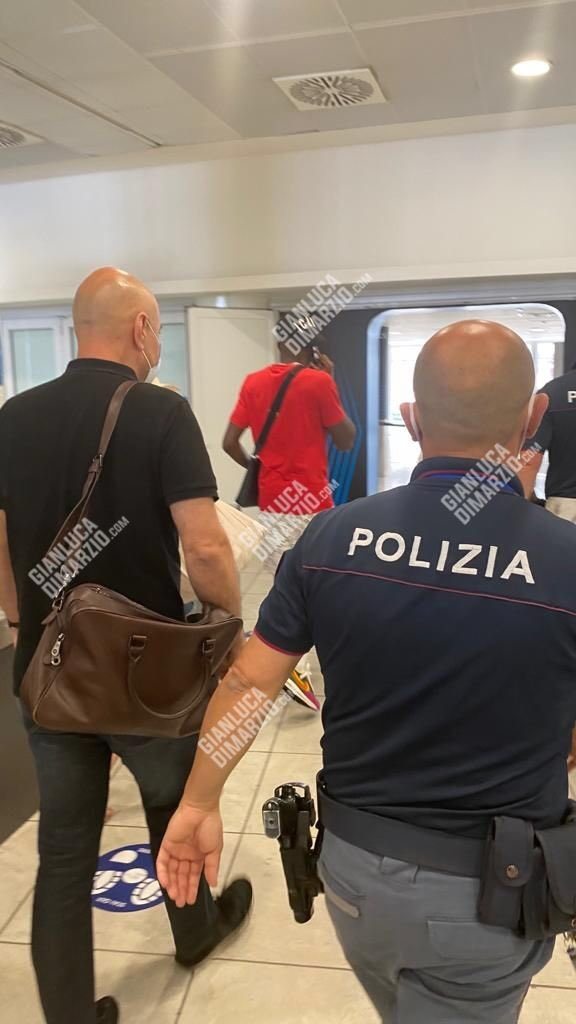 Victor Osimhen Arriving in Italy