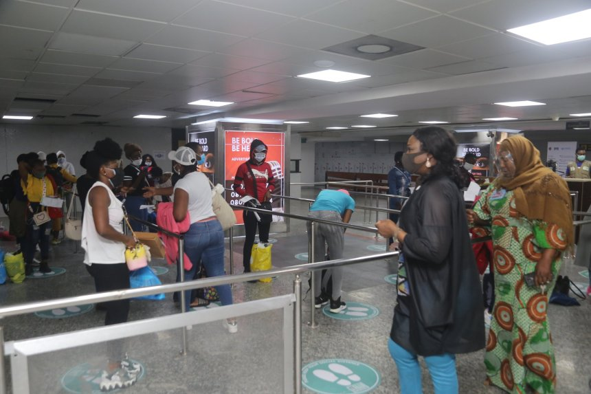 2,933 Nigerians evacuees return from UAE, 292 repatriated today