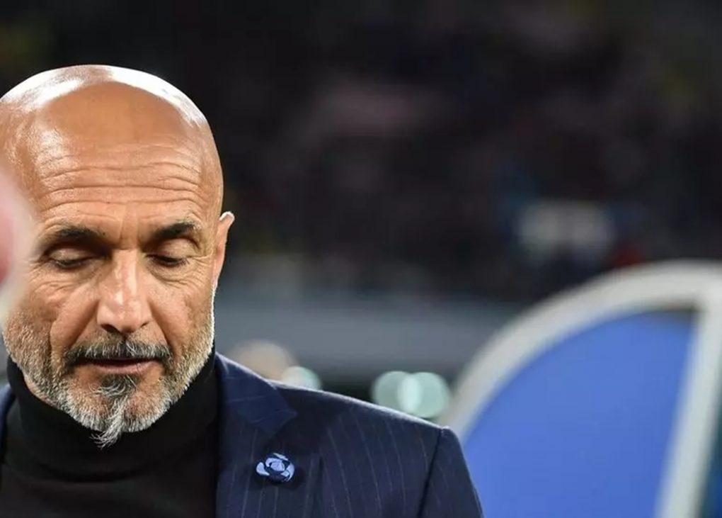 Napoli's new coach Luciano Spalletti